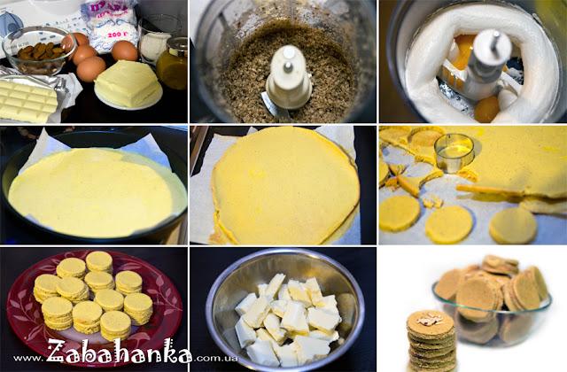 Мигдальні тістечка - рецепт