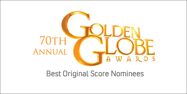 2012 Golden Globe Nominees for Best Score