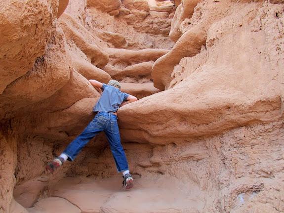 Bradley making the climb