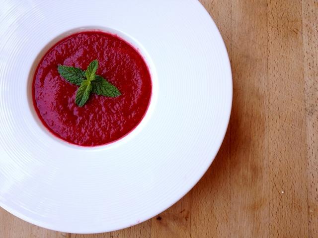 mis sandia gazpacho