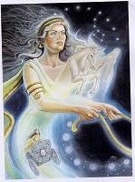 Goddess Selene Image