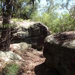 Heading inbetween some rock outcrops (131662)