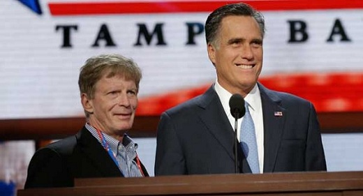 Mitt Romney and Chief Strategist tTuart Stevens