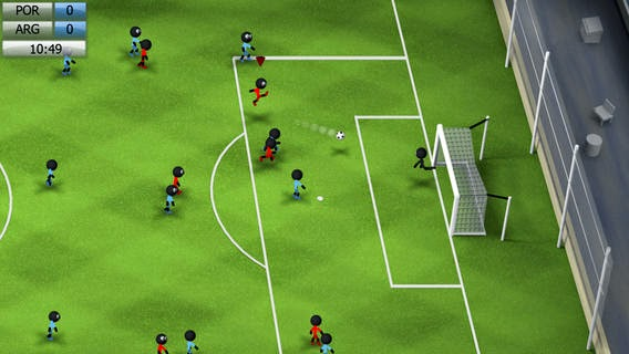 Stickman Soccer 2014 v1.0 for iPhone/iPad