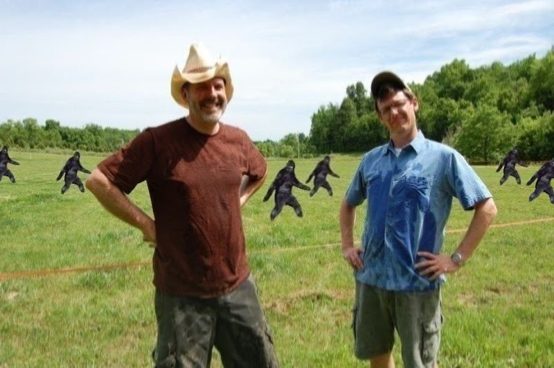 Sightings: Bigfoots roam the field behind farmers