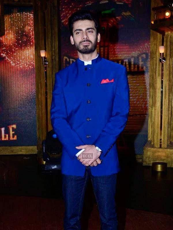 Fawad Khan on the sets of Entertainment Ke Liye Kuch Bhi Karega, in Mumbai. (Pic: Viral Bhayani)<br />