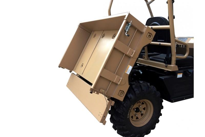 500cc Atomik Agmax Military Farm UTV Side By Side tilt tray