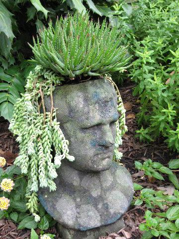 Inspire Bohemia Stoneface Creations Stone Head Garden