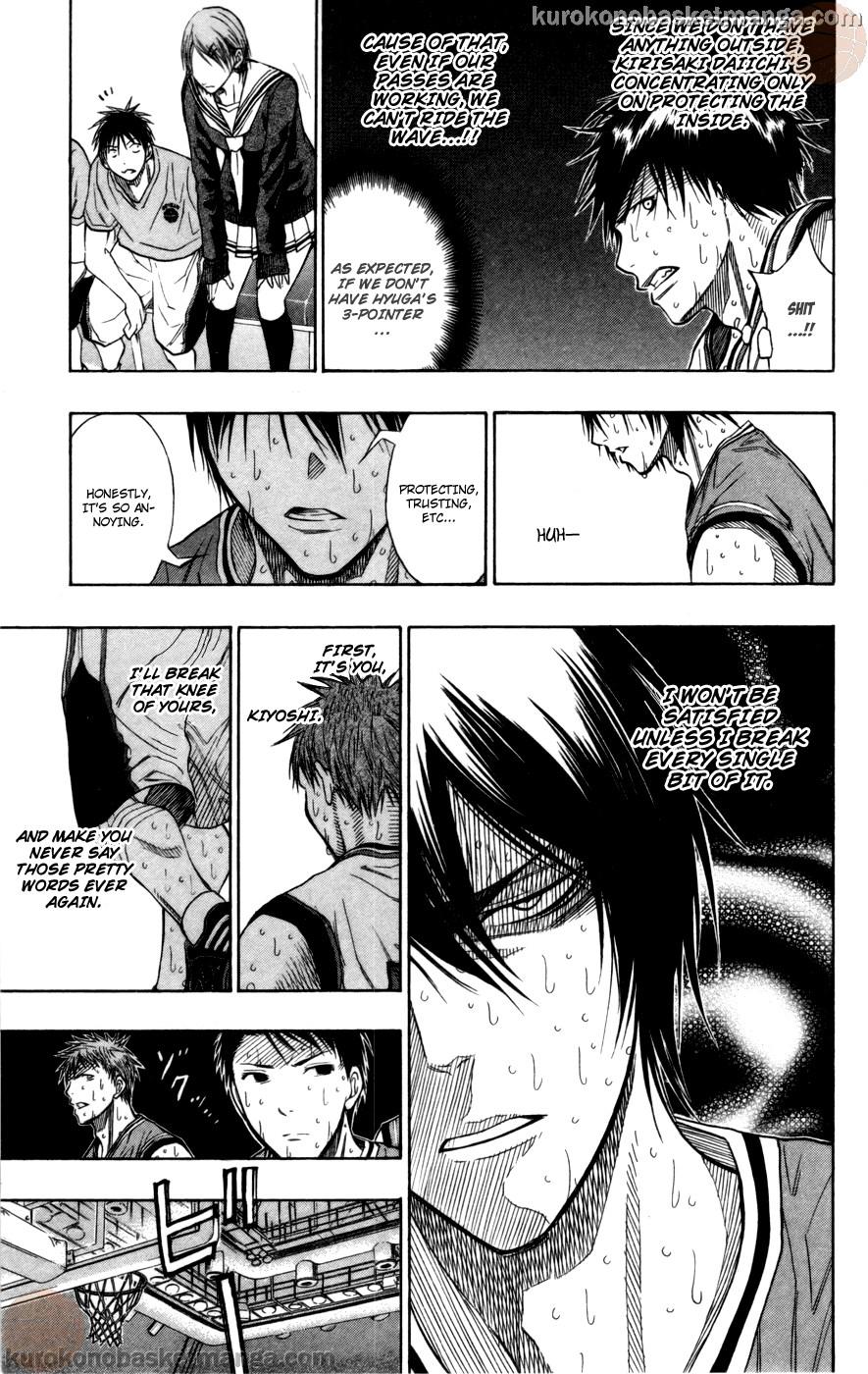 Kuroko no Basket Manga Chapter 105 - Image 17