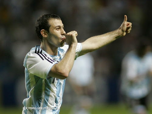 javier mascherano wallpaper 2010