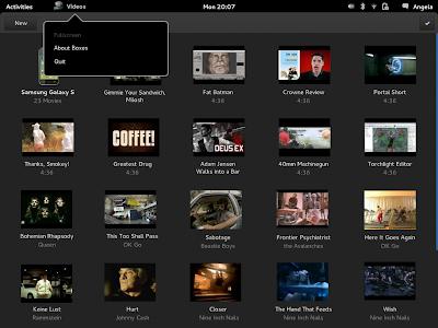 GNOME Videos