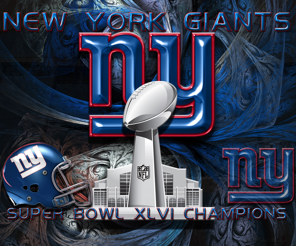 Wallpapers By Wicked Shadows: New York Giants Super Bowl