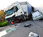 accident tir Accident cu un TIR