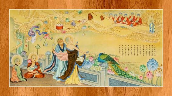 Bộ ảnh đẹp minh họa bản Kinh A Di Đà 6