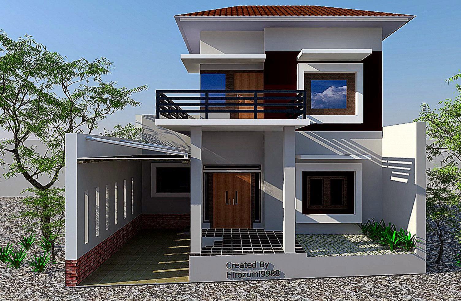 desain rumah depan gallery taman minimalis