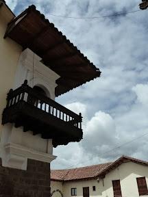 Toît du musée inca
