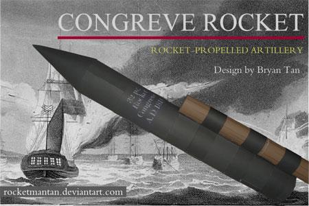 Congreve Rocket Papercraft
