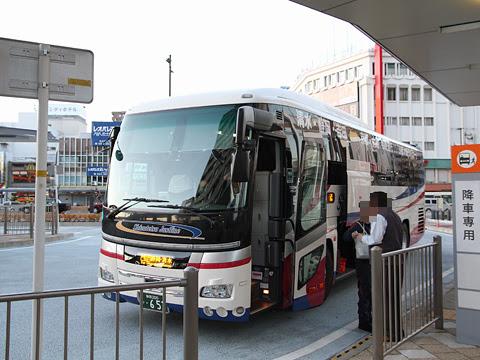 しずてつジャストライン「京都大阪ライナー」・653 清水駅前到着 その1