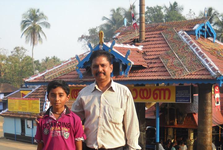 Celebrating Kerala Temple Festival 2012