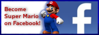 Become Super Mario On Facebook