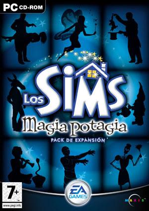 Carátula Los Sims Magia Potagia