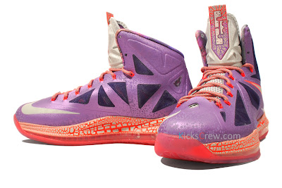 nike lebron 10 gr allstar galaxy 4 02 Nike Upgrades LEBRON X ALLSTAR Area 72 with $200 Price Tag