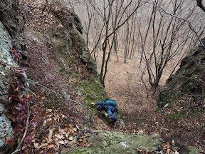 선운산 도솔암 - 천마봉
