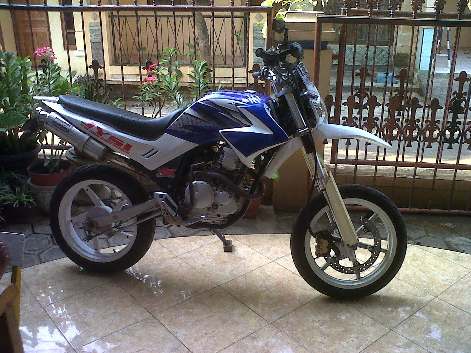 modifikasi scorpio z new