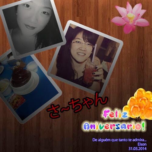 Aniversário - Saa~chan