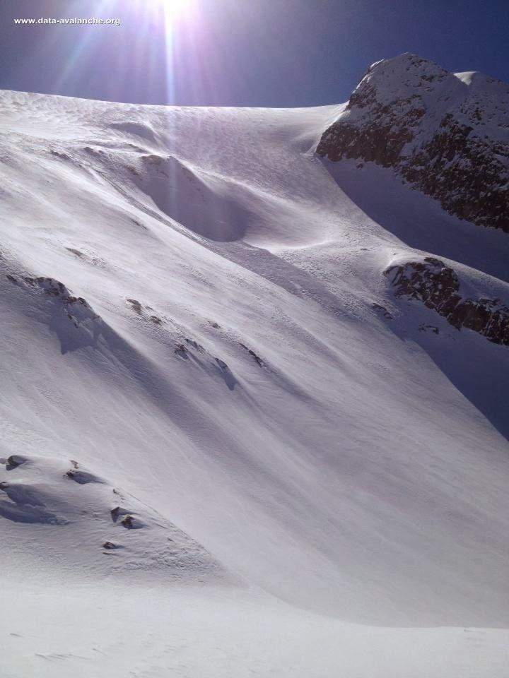 Avalanche Mont Blanc, secteur Glacier du Tour, descente du Col du Passon - Photo 1 - © Gerome Yann