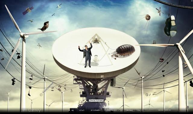 *讓我們來一窺金凱瑞的奇妙世界吧!|Jim Carrey - Official Web Site 9