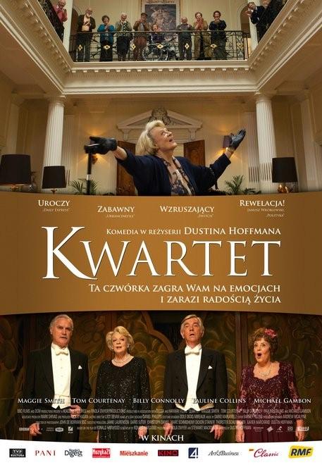 Plakat filmu: Kwartet