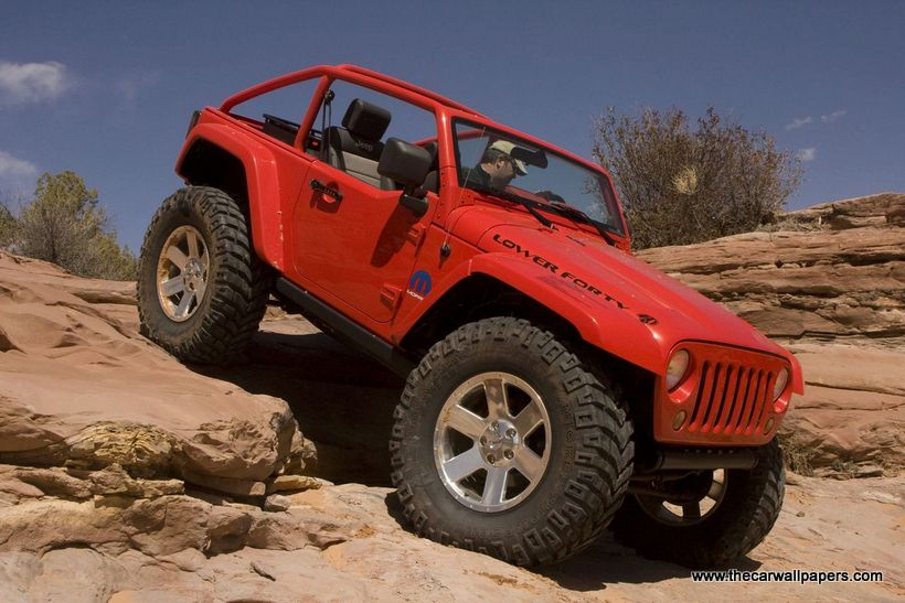 Mopar Underground Jeep Wrangler