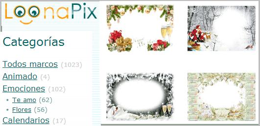 Paginas Web de Fotomontajes y Marcos para Fotos de Navidad