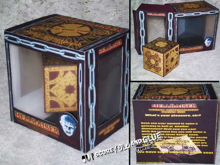 Hellraiser Papercraft Lament Configuatino in a Box