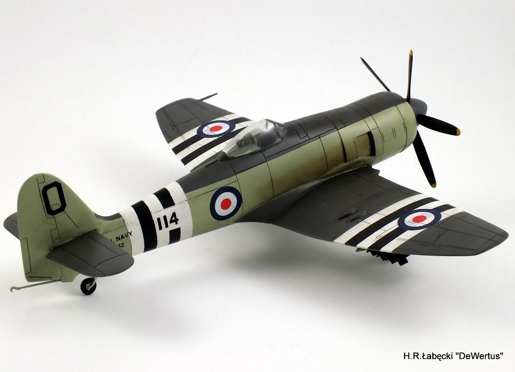 Korea 1950-53; Sea Fury FB.11, KITECH 1/48 DSCF3953