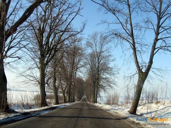 zimową porą na podlasiu