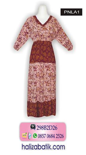 long dress batik modern, toko batik murah, baju batik wanita terbaru