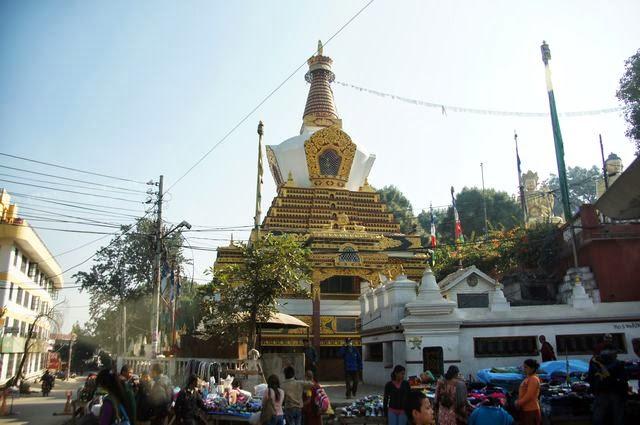 達人帶路-環遊世界-尼泊爾PoonHill健行-寺廟