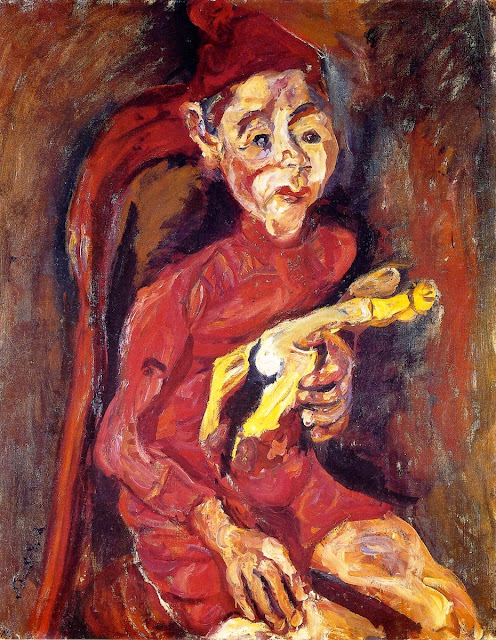 Chaim Soutine - Child with a Toy