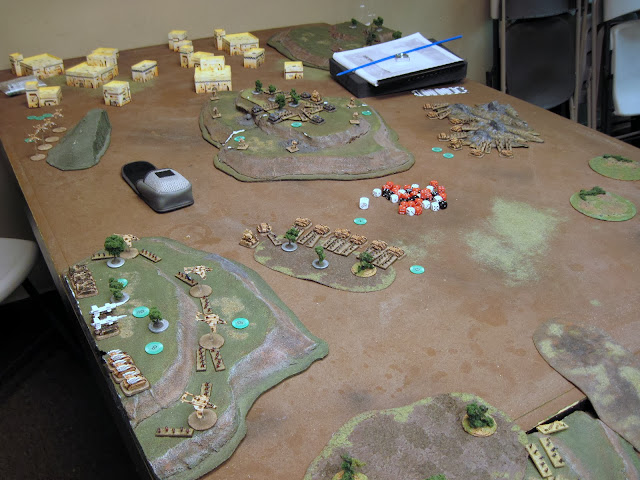 Start of Game - Defender's Table