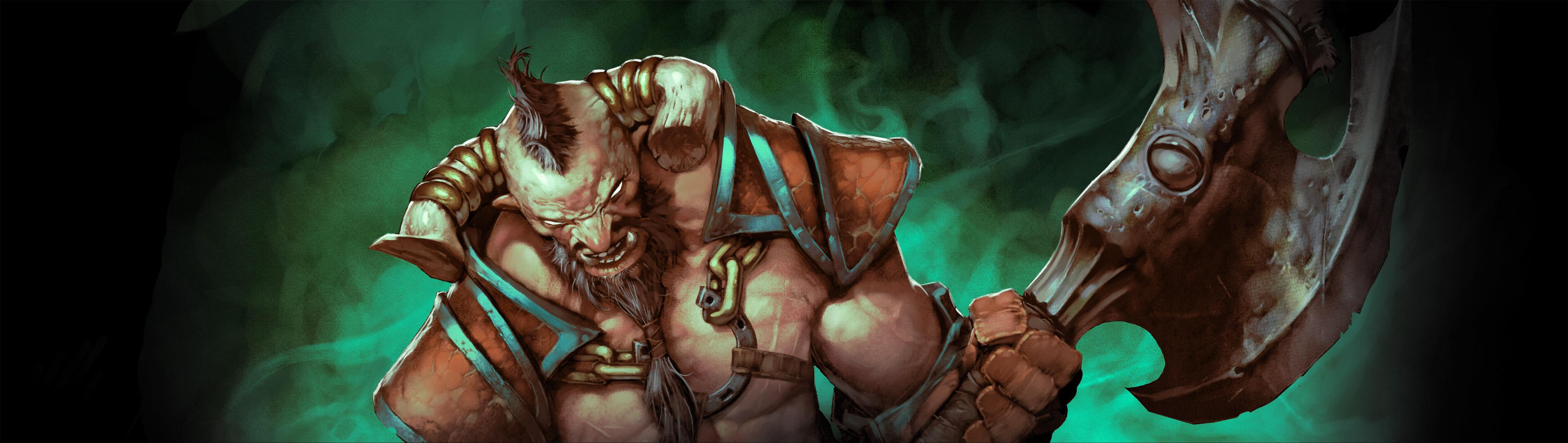 Loạt ảnh nguyên họa của các hero trong DotA 2 - Ảnh 34
