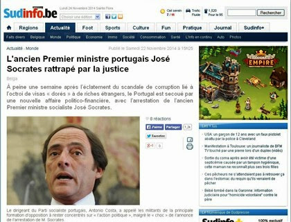 Fail - Jornal belga troca José Sócrates por Paulo Portas