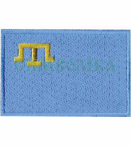 Прапорець кримських татарів 100% зашиття