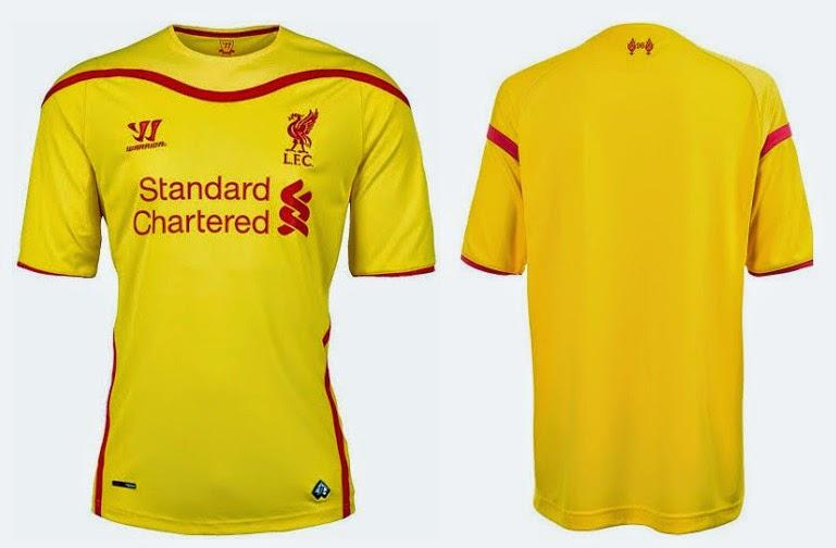 All 3 Liverpool 2014-2015 Kits (Released) 89a6f5db3