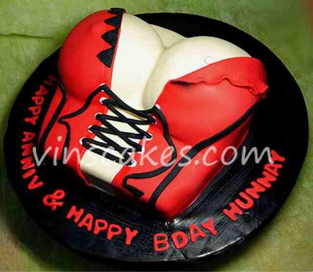 Happy Birthday Breast Cake