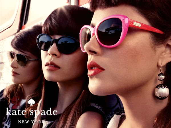 Fashion Eyewear Kate Spade Spring Summer 2012 Campaign