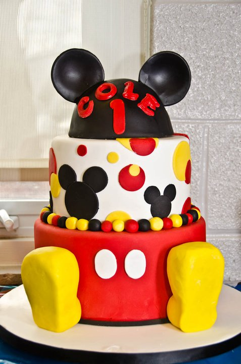 Sweet Eats Cakes Mickey Mouse 1st Birthday