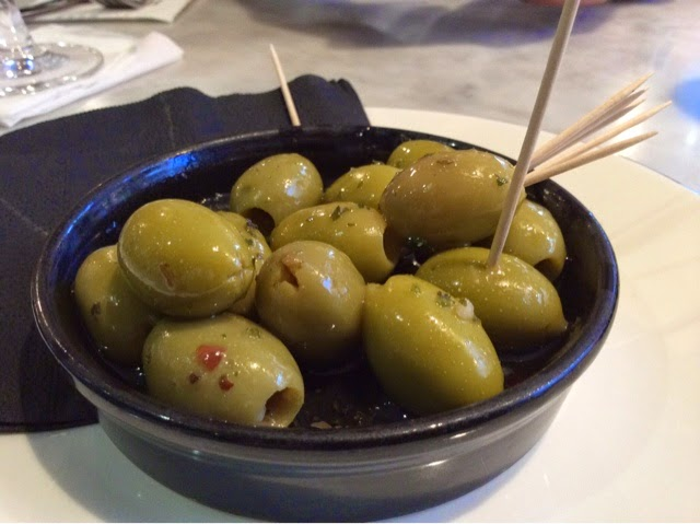 pizza express olives
