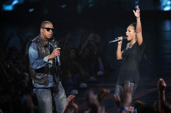 Alicia Keys y Jay Z